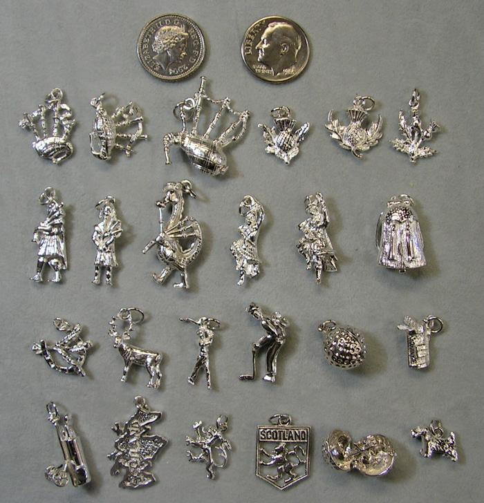 charms 1 silver sizes