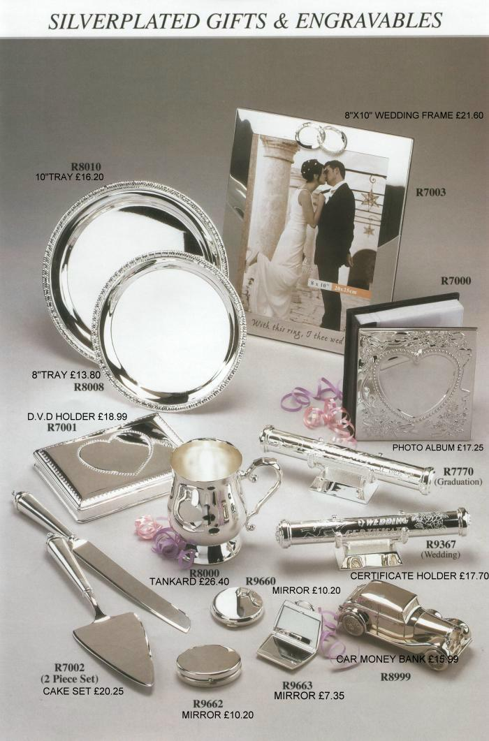 All About Wedding Wedding Gifts